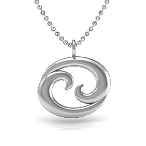 The Best Sterling Silver 925 Zodiac Symbol For Cancer Pendant