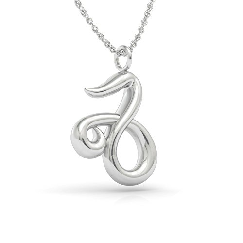The best capricorn necklace 925 sterling silver 18 inch necklace the best capricorn necklace 925 sterling silver 18 inch necklace with a zodiac capricorn symbol aloadofball Choice Image